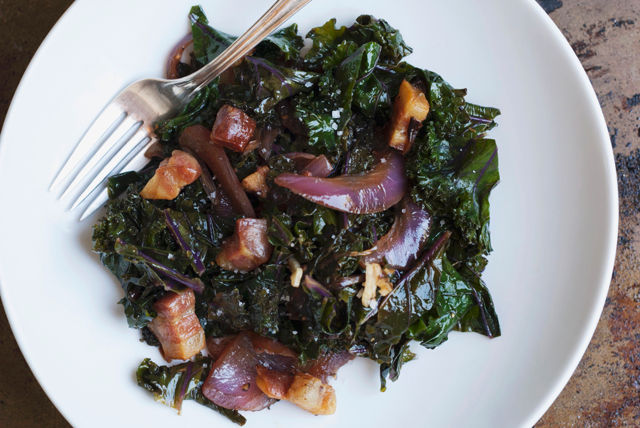 Warm Kale and Pancetta Salad Recipe List - SaleWhale.ca