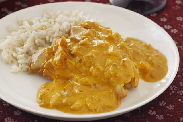Slow-Cooker Chicken Curry