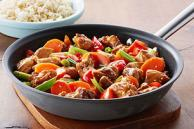 Honey-Sesame Chicken Stir-Fry
