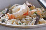 Weeknight Caramelized Onion and Shrimp Risotto