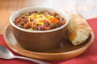 BULL'S-EYE Beef & Sausage Chili