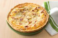 Potato & Bacon Quiche
