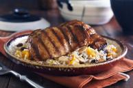 Moroccan Chicken with Fruity Rice