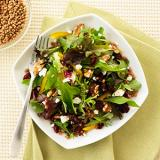 Mesclun Mix with Cranberries and Walnuts