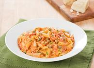 Gluten Free Penne in a Rose Sauce with Capers and Chives
