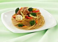 Chinese Noodles with Seasonal Vegetables  By Chef Sébastien Bonnefis & Chef Sonia Carrier