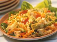 Vegetable Fusilli Pasta Salad