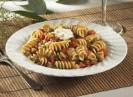 Rotini with Eggplant, Tomatoes and Ricotta