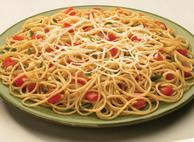 Spaghettini with Roasted Vegetable Sauce