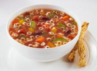 Colourful Minestrone Soup