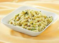 Fusilli in a Cheese Spinach Sauce By Chef Brent Lloyd