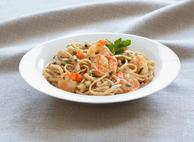 Light Linguine Alfredo with Shrimp