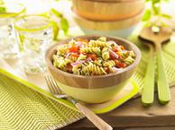 Gluten Free Fusilli with Smoked Salmon & Capers
