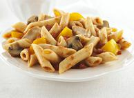Penne Rigate with Chicken, Peppers and Mushrooms