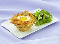 Catelli® Healthy Harvest® Whole Grain Pasta Spaghettini Breakfast Nests By Executive Chef Julian Bond