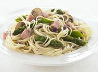Capelli d'Angelo with Mushrooms