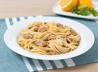 Zesty Tuna, Lemon and Caper Linguine