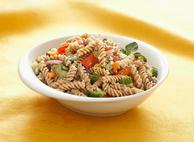 Fusilli Creamy Greek Pasta Salad