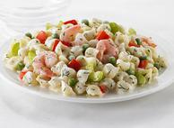 Pasta Shells and Shrimp Salad
