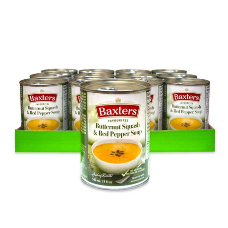 Baxters Favourites Soups Baxters Favourites Butternut Squash & Red Pepper Soup Case Pack