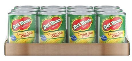 Del Monte Corn Cream Style Case Pack