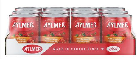 Aylmer Tomatoes Diced - Case Pack