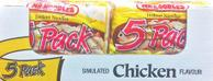 Mr. Noodles 5 Pack Chicken Instant Ramen Soup Case Pack