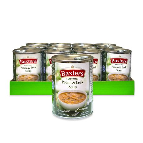 Baxters Favourites Soups Baxters Favourites Potato Leek Soup Case Pack
