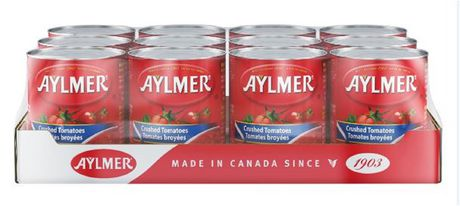 Aylmer Tomatoes Crushed - Case Pack
