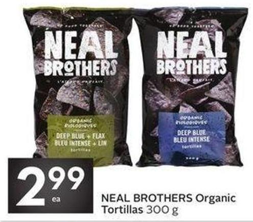 Neal Brothers Organic Tortillas
