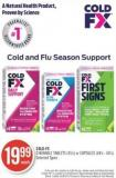 Cold-fx Chewable Tablets (45's) or Capsules (48's - 60's)