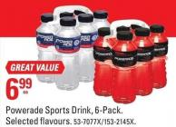 Powerade Sports Drink - 6-pack