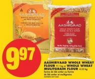 Aashirvaad Whole Wheat Flour - 9.1 Kg or Whole Wheat Mulitgrain Flour - 4.55 Kg