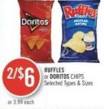 Ruffles or Doritos Chips