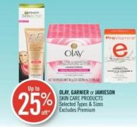 Olay - Garnier or Jamieson Skin Care Products