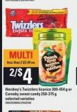 Hershey's Twizzlers Licorice - 300-454 G Or Carnaby Sweet Candy - 250-375 G
