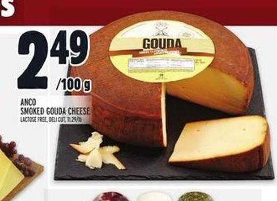 Anco Smoked Gouda Cheese