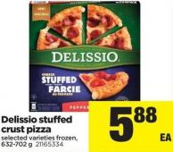 Delissio Stuffed Crust Pizza - 632-702 g