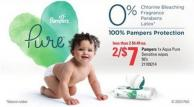 Pampers 1x Aqua Pure Sensitive Wipes - 56's