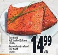 True North Hot Smoked Salmon 3.31/100 g