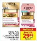 L'oréal Paris Age Perfect Cell Renewal Rosy Tone Moisturizer