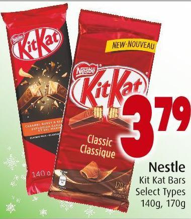 Nestle Kit Kat Bars