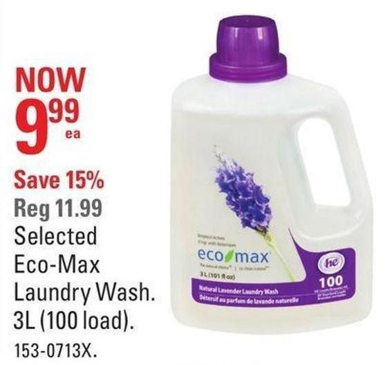 Selected Eco-max Laundry Wash
