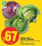 Green - Red or Savoy Cabbage - 227 g