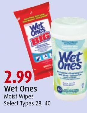 Wet Ones Moist Wipes