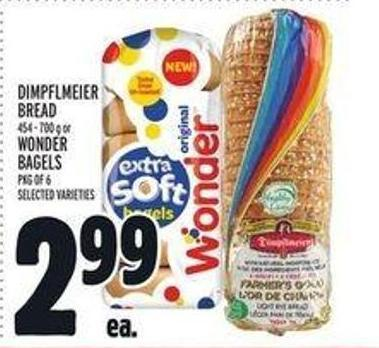 Wonder Bagels - Pkg of 6