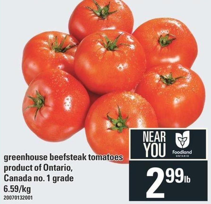 Greenhouse Beefsteak Tomatoes