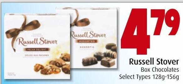 Russell Stover Box Chocolates