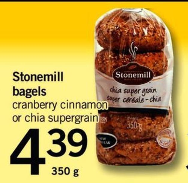 Stonemill Bagels - 350 G