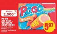 Pogo All Beef or Original Corn Dogs - 8/10's